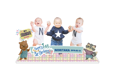 3人の赤ちゃん